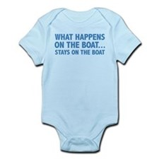What Happens On The Boat... Onesie