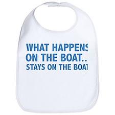 What Happens On The Boat... Bib