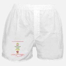 Kickspit back white Boxer Shorts