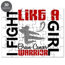 Fight Like A Girl Brain Cancer 3.2 Puzzle