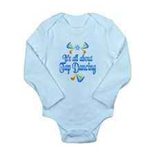 About Tap Dancing Long Sleeve Infant Bodysuit