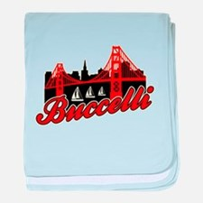 Buccelli City by the Bay baby blanket