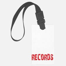 UUGR front white Luggage Tag