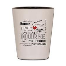 Psychiatric Nurse Pride/Attributes+Red Heart Shot