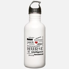 Psychiatric Nurse Pride/Attributes+Red Heart Water