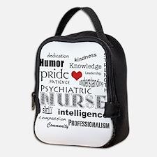 Psychiatric Nurse Pride/Attributes+Red Heart Neopr