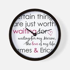 Erica Stewart Custom Order 2 Wall Clock