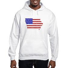 Iowa Flag Hoodie