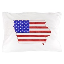 Iowa Flag Pillow Case