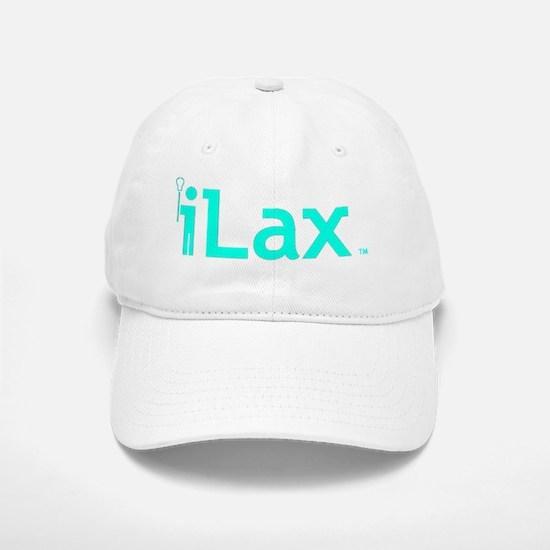 iLax Trademark Blue Baseball Baseball Cap
