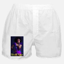 Blow Kisses_yellow Boxer Shorts