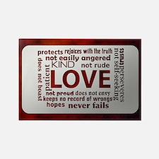 Love Rectangle Magnet
