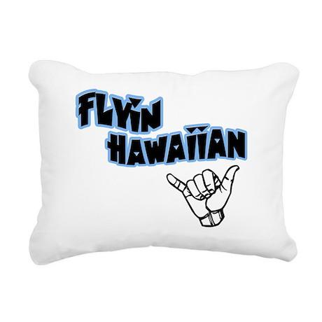 flyin2 Rectangular Canvas Pillow