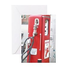 gaspump Greeting Card