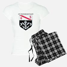 DUI-1ST ENG. BN WITH TEXT Pajamas