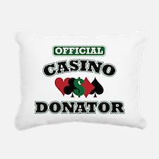 offdonator Rectangular Canvas Pillow