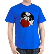 Japanese Chin Heart T-Shirt