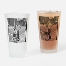 BUKOWSKI BY SAM CHERRY Drinking Glass