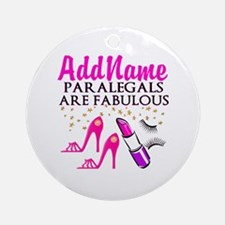 PARALEGAL DIVA Ornament (Round)
