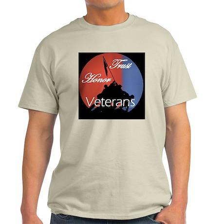 Honoring Veterans Light T-Shirt