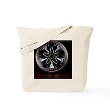Star Rim Metal - Black Tote Bag