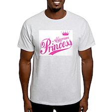 Algerian Princess Ash Grey T-Shirt