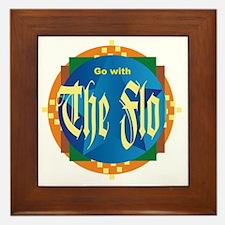 Go with The Flo Framed Tile