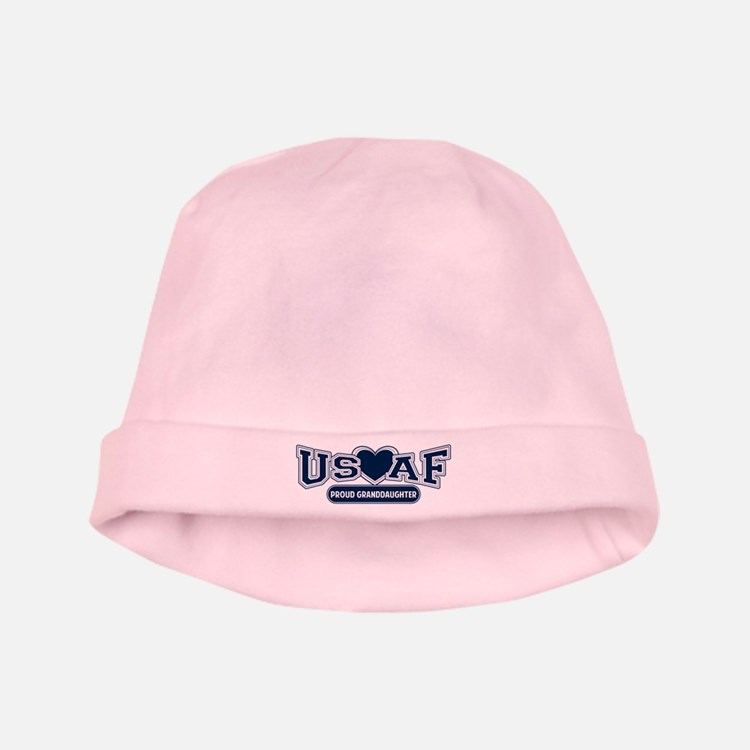 Air Force Granddaughter baby hat