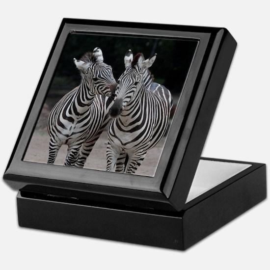 Zebra005 Keepsake Box
