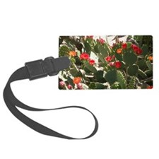 colorful cactus flowers Luggage Tag