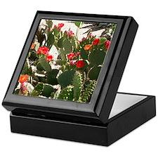 colorful cactus flowers Keepsake Box