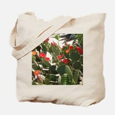colorful cactus flowers Tote Bag