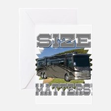 Size Matters Class A Motorhome Greeting Cards
