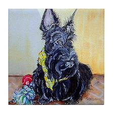 Scottish Terrier MacGregor Tile Coaster