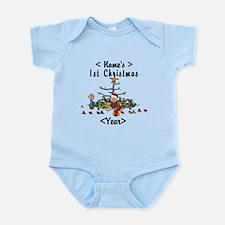 Personalize 1st Christmas Infant Bodysuit