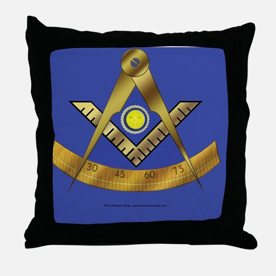 PM SQ license copy Throw Pillow