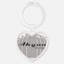 Akyna Scuba Tank template Heart Keychain