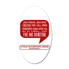 Cyrus Beene Fire & Brimstone Scandal Wall Decal