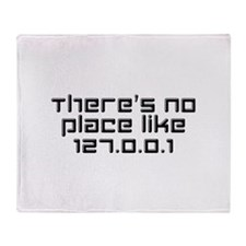 There's No Place Like 127.0.0.1 Stadium Blanket