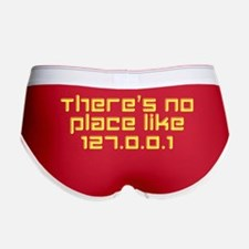 There's No Place Like 127.0.0.1 Women's Boy Brief