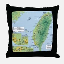 taiwanrail Throw Pillow