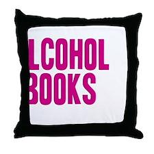 alchpink1 Throw Pillow