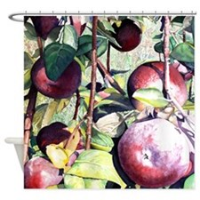 A Bushell of Apples! Shower Curtain