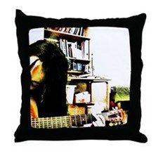 guitarhero Throw Pillow