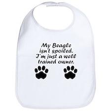 Well Trained Beagle Owner Bib