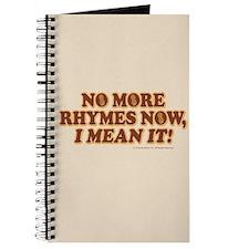 Princess Bride No More Rhymes Journal