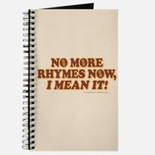 Princess Bride No More Rhymes Journal