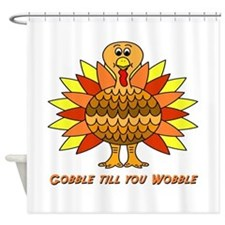 turkey1.png Shower Curtain