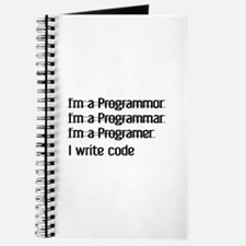 I Write Code Journal
