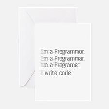 I Write Code Greeting Cards (Pk of 20)